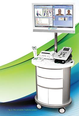 round computer station